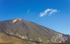 Вулкан Тейде летом