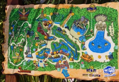 Сиам-Парк — так выглядит карта парка
