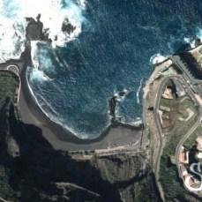 Пляж Ла Арена на карте