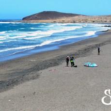 Общий вид на пляж Леокадио Мачадо