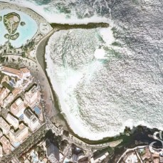 Пляж Мартианес на карте