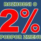 Kam pôjdu Tvoje 2% dane?