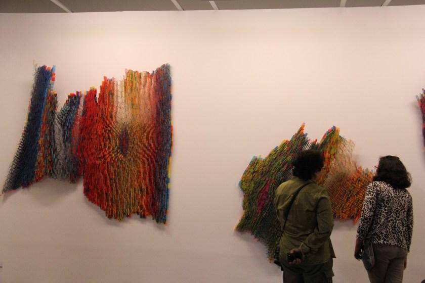 Detalle del estando de la galería D'Museo