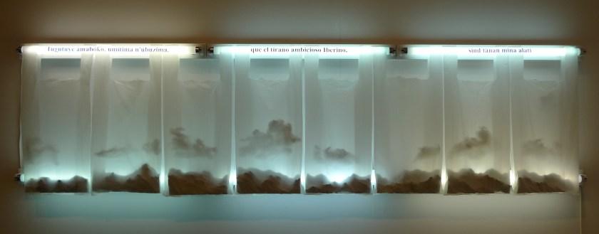 Una de las obras de la galería Nieves Fernández, participante en Art City Projects en Lima