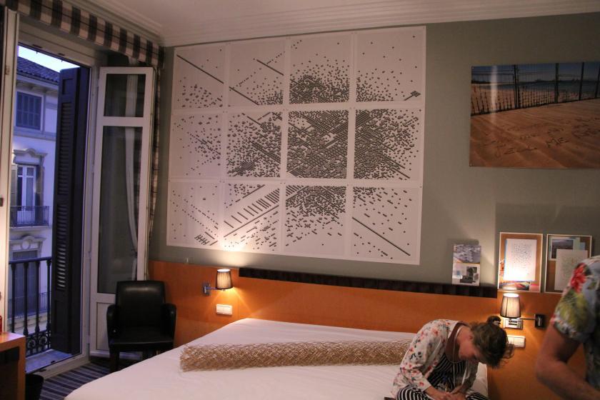 La habitación de GACMA en Art & Breakfast