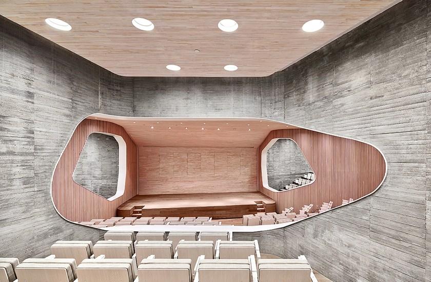 Auditorio de la Fundación Giner de los Ríos, en Madrid
