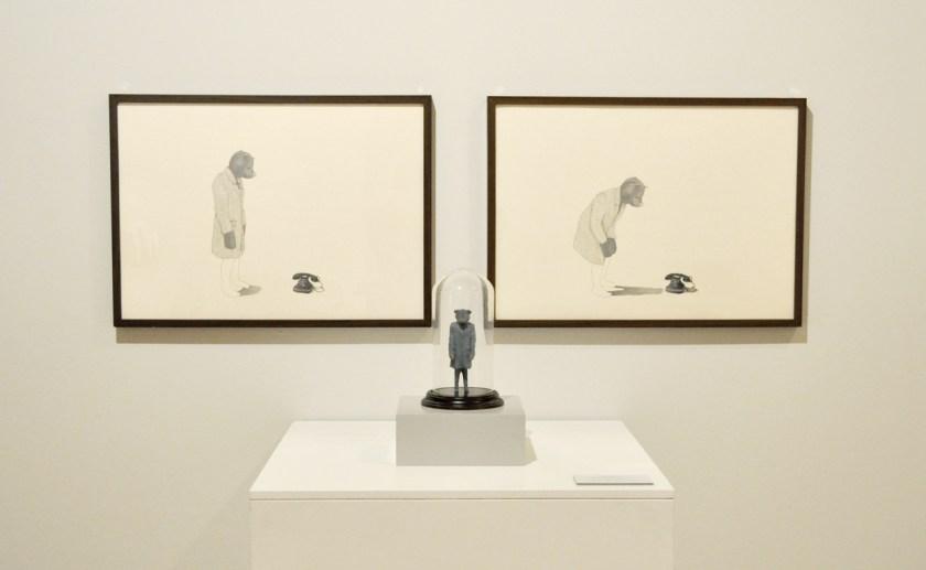 Obra por la que el artista recibió el Premio Joven Complutense