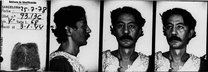 Ficha policial de Nazario