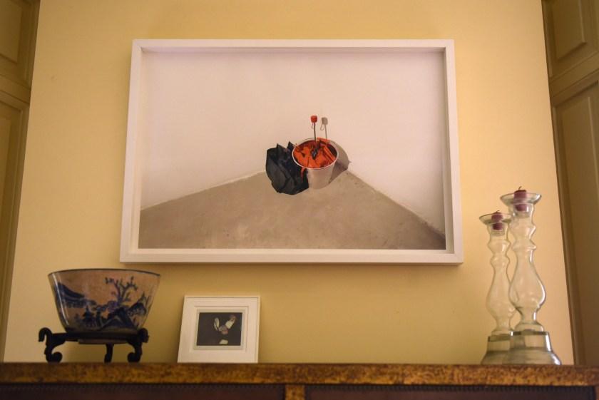 Muy pocas fotos personales decoran la estancia de Villalón