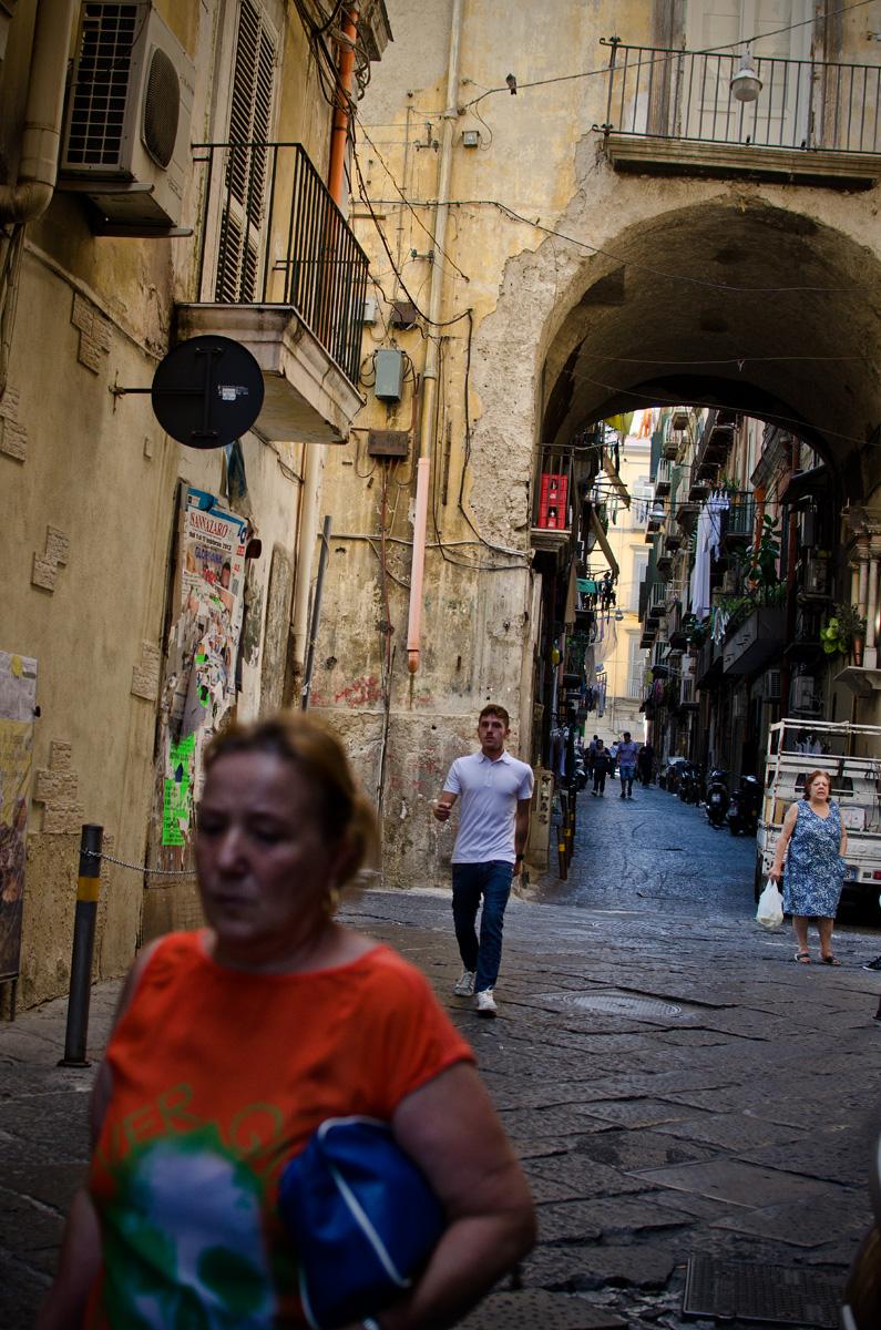Italia, Nápoles, Quartieri Spagnoli, barrio de San Ferdinando