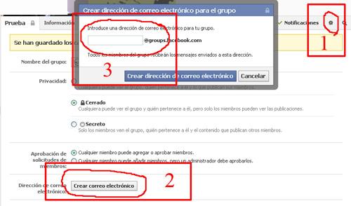 Los Grupos en Facebook (5/6)