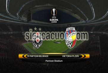 Soi kèo Partizan Belgrade vs Plzen 03h05 ngày 16/02 vòng 1/16 Europa League 2017/18