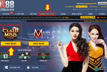 Casino trực tuyến M88 thiên đường cá cược
