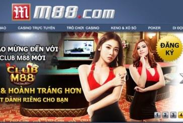 M88 – Nhà cái cho người chơi chuyên nghiệp