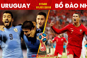 Nhận định Uruguay vs Bồ Đào Nha 1h00 ngày 01/07