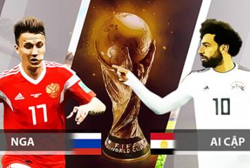 Nhận định, soi kèo Nga vs Ai Cập 01h00 ngày 20/06