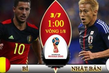 Soi kèo nhà cái Bỉ vs Nhật Bản, 01h00 ngày 03/7