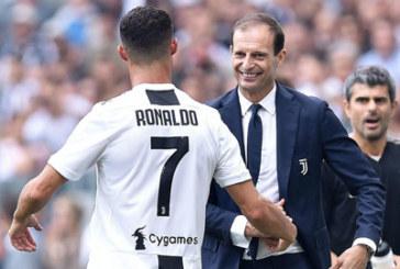 Sau tất cả Allegri vẫn đứng về phía Ronaldo