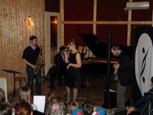 saxophone, chant piano et Dualo