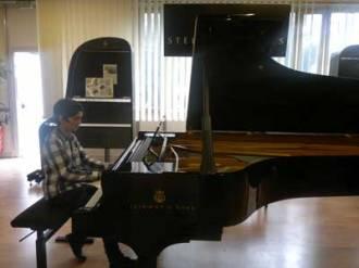 élève piano avancé