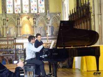 Alessandro joue le 2ème impromptu de Chopin