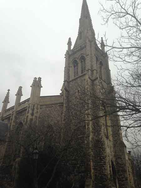 L'église saint Mark