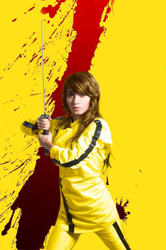 """Kill Bill""- Uma Thurman inspired makeup and hair for TMag"