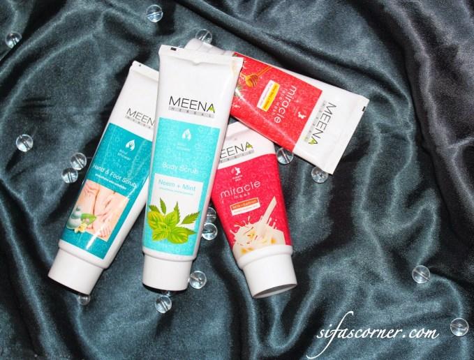 REVIEW: Meena Herbal Scrubs**