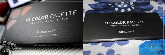 REVIEW: 10 color Blush Palette by BH cosmetics