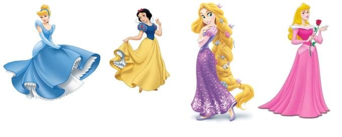A magical time with Disney princesses!