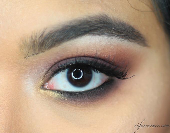 Pin by Mlle Gu on Eyes&Lips MakeUp ღ   Gold smokey eye