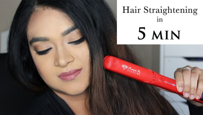 REVIEW & DEMO: How I Straighten My Hair with Chronic Pain feat. Irresistible Me Diamond hair styler