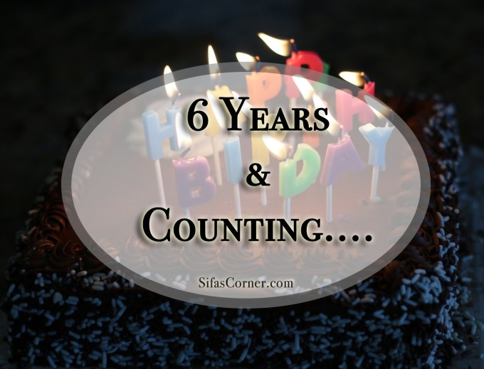 Happy Birthday Sifa's Corner!