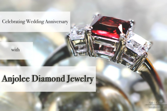 Celebrating Wedding Anniversary with Anjolee Diamond Jewelry