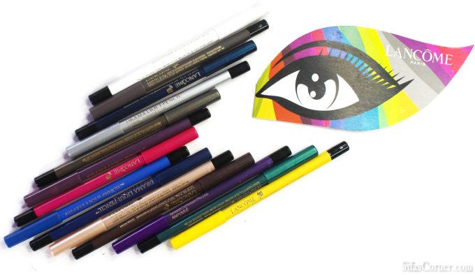 Lancôme DRAMA LIQUI-PENCIL™ Longwear Eyeliner Review & Swatch
