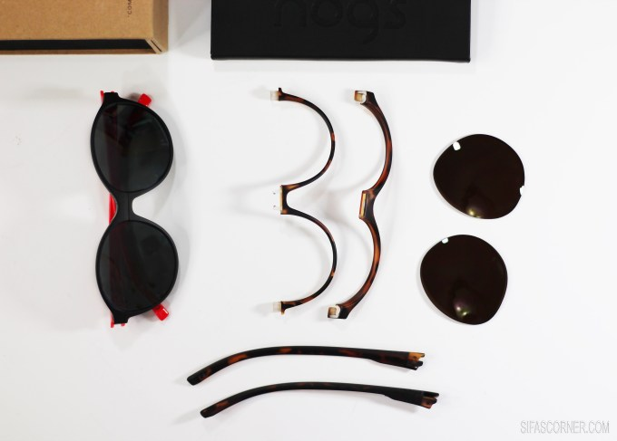 Nogs: Modular DIY Sunglasses