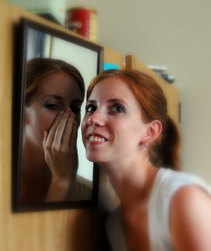 Self-talk can be beneficial,