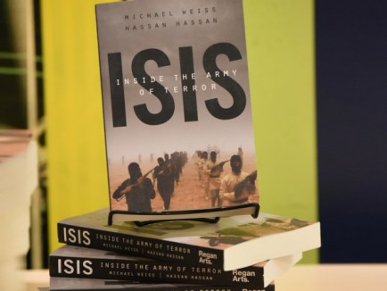A book I am reading nowadays; ISIS Inside The Army of Terror