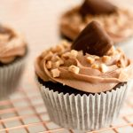 Gluten Free Chocolate Cupcakes Recipe on a wire rack