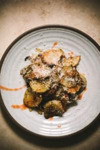 Roasted Potatoes Recipe on a plate