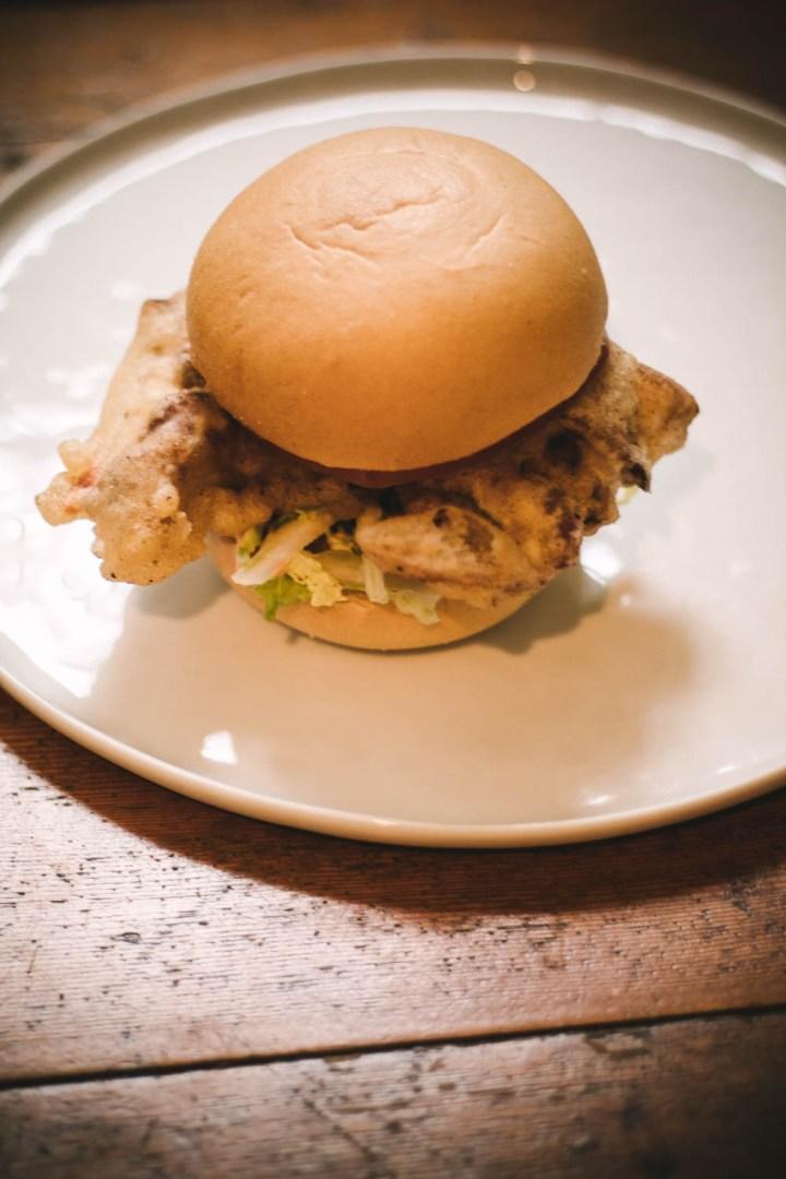 Gluten Free Soft Shell Crab Sandwich
