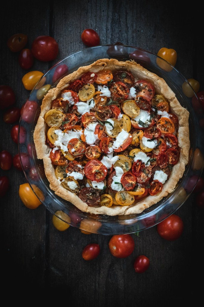 Quick and Easy Recipe for Tomato Tart