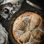 Gluten Free Pear and Frangipane Tart