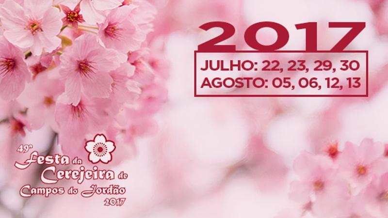 Festa da Cerejeira em Campos do Jordão SP 2017