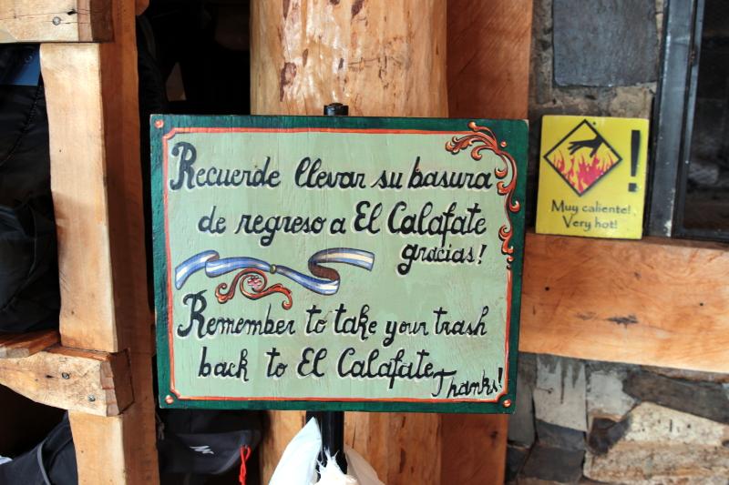 Siga na Viagem - Minitrekking sobre o Glaciar Perito Moreno - Refúgio