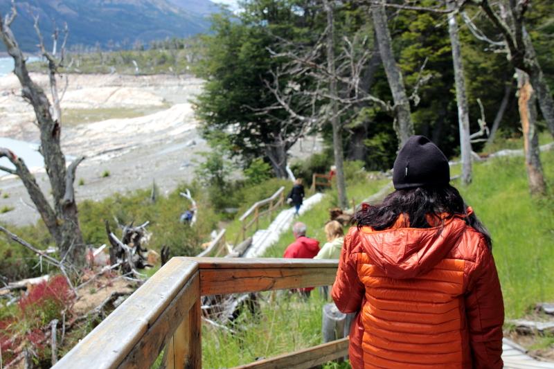 Siga na Viagem - Minitrekking sobre o Glaciar Perito Moreno - Retorno ao refúgio