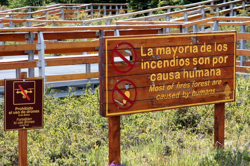Siga na Viagem - Glaciar Perito Moreno - Trajeto de acesso às passarelas