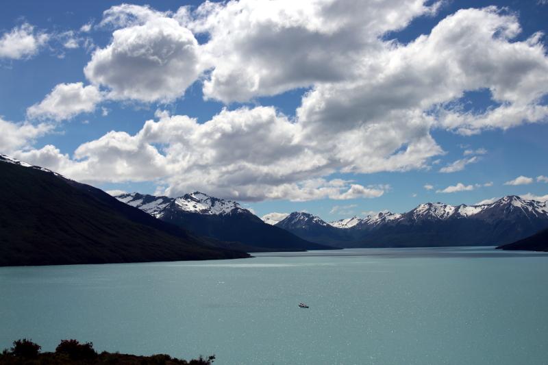Siga na Viagem - Glaciar Perito Moreno - Vista do Lago Argentino