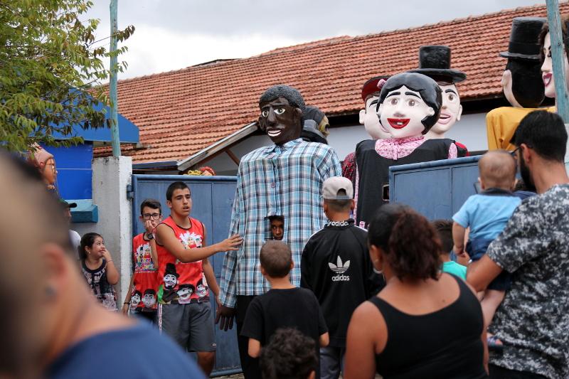 Siga na Viagem - I Encontro dos Bonecos Gigantes - Liberação dos bonecos para desfile