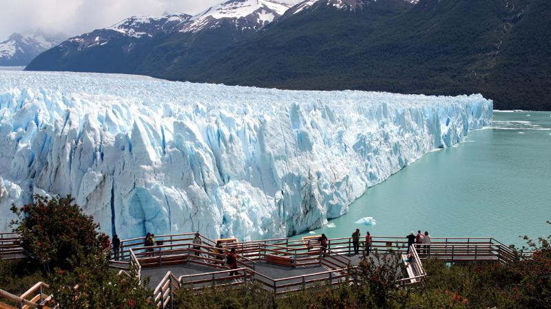 Visita às passarelas do Glaciar Perito Moreno